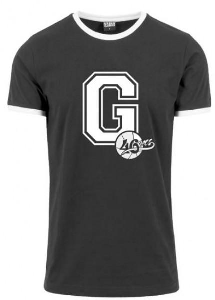 """T-Shirt """"G-46ers"""" schwarz"""
