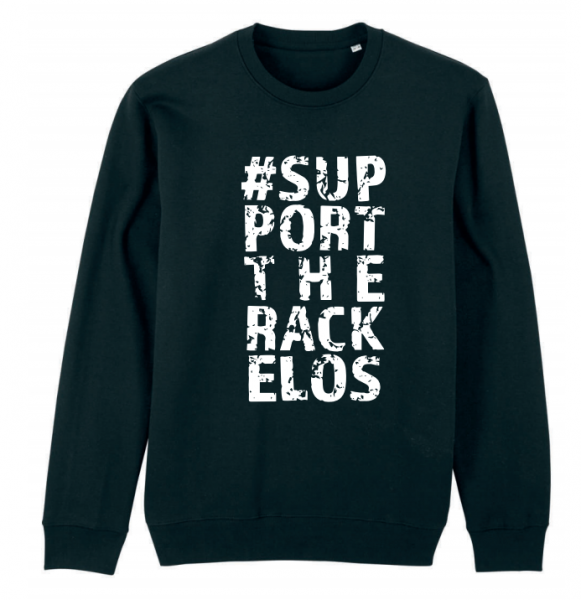 Rackelos-Kollektion Sweatshirt in Schwarz