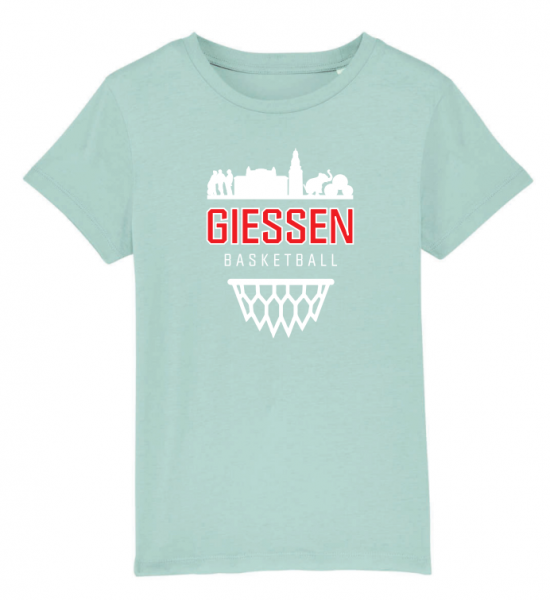 City-Kollektion Kinder T-Shirt in Caribbean Blue
