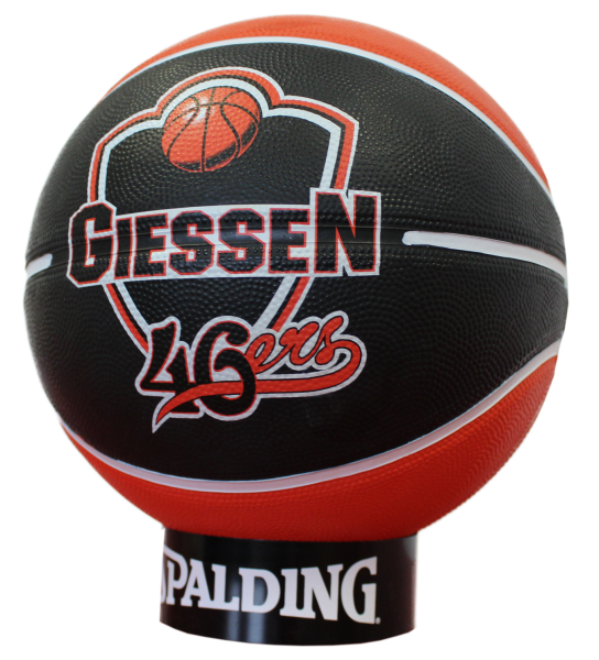 Original Spalding 46ers-Basketball, Größe 7
