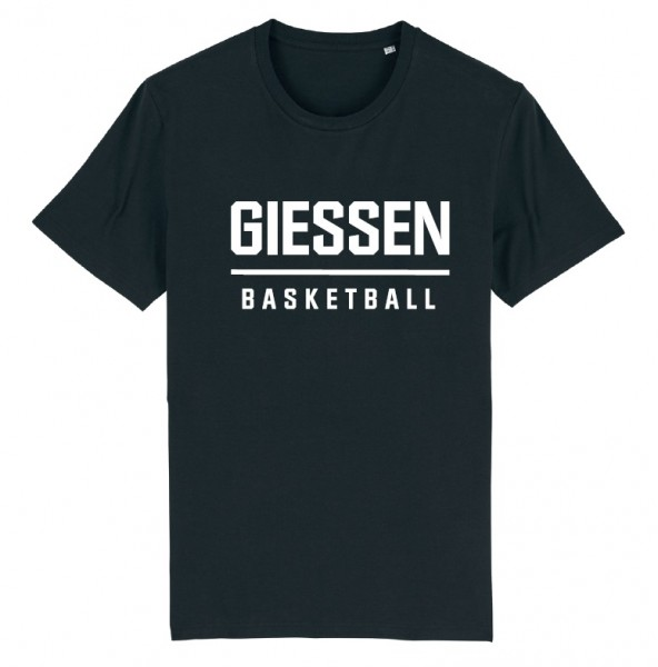 GIESSEN BASKETBALL-Shirt, schwarz, Kinder