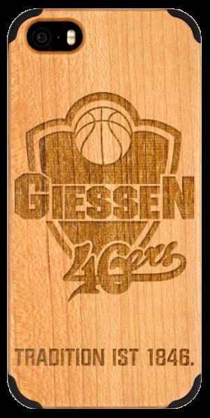 iPhone Handyhülle aus Holz GIESSEN 46ers
