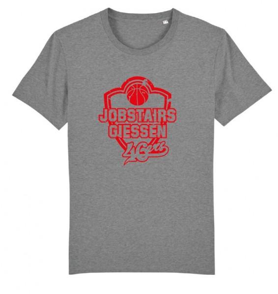 JobStairs GIESSEN 46ers Shirt, Unisex, hellgrau