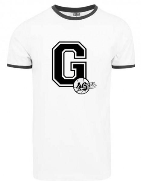 """T-Shirt """"G-46ers"""" weiß"""
