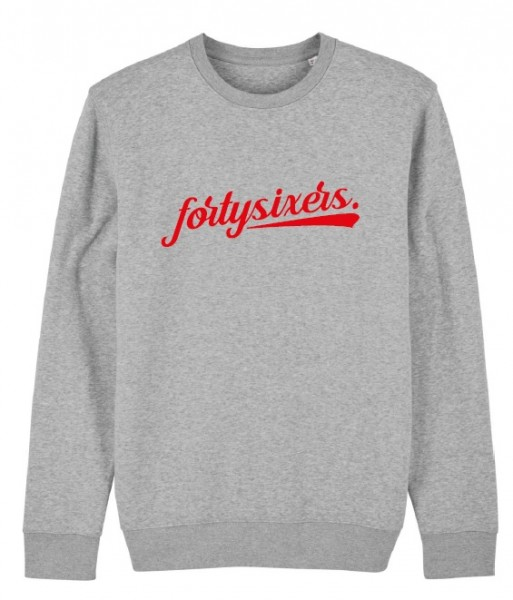 fortysixers-Sweater, Kinder, grau