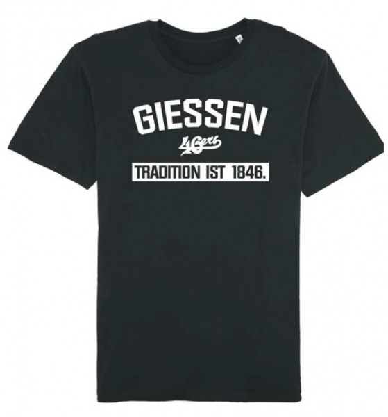 "T-Shirt ""GIESSEN - Tradition"" schwarz"