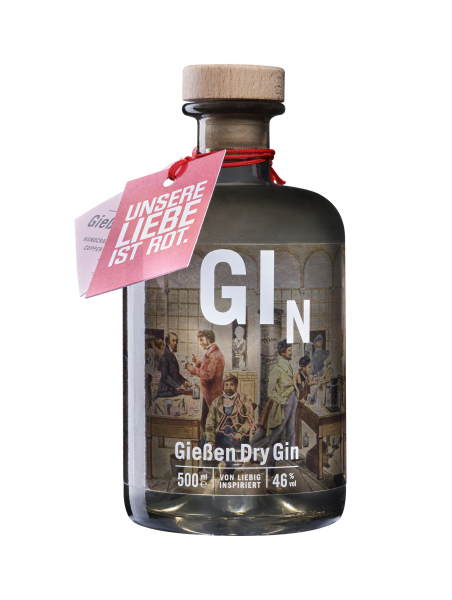 Gießen Dry Gin im 46ers-Design, 500 ml