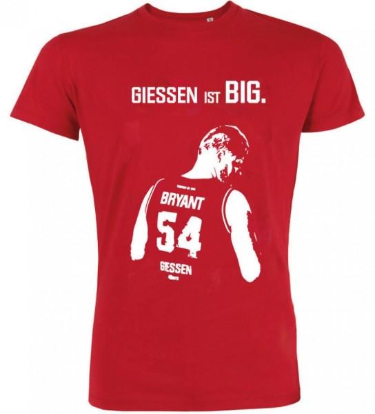 "T-Shirt ""BIG John"" Herren, rot"