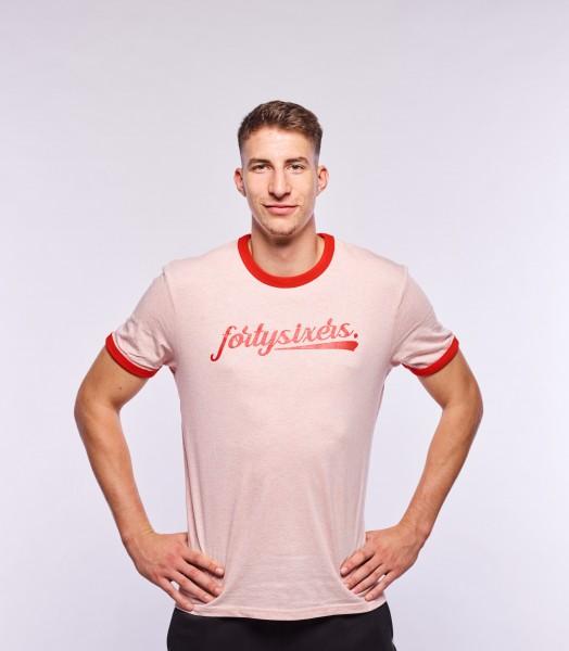 fortysixers Ringer-Shirt, Unisex