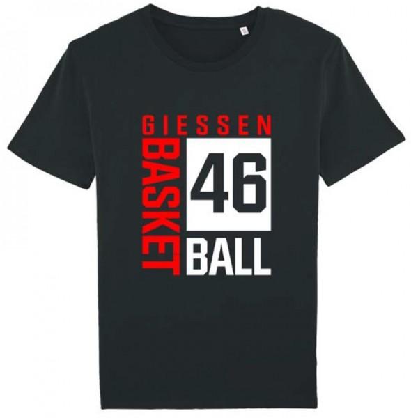 """T-Shirt """"Blockdruck"""" Herren schwarz"""